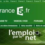 On parle de Travailler-en-Angleterre.com sur France 5