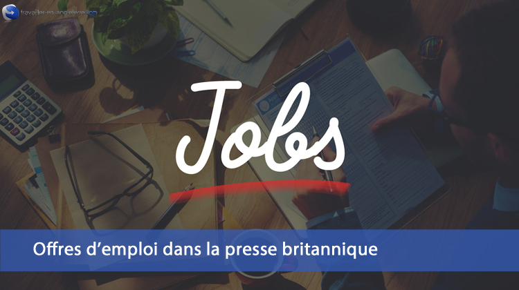 offres emploi Angleterre